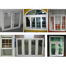 Fenêtre coulissante supérieure d'UPVC / PVC Arch
