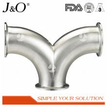 Sanitary 90d Clamp Double Bend for Pipe Fittings