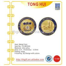 Metal Moneda conmemorativa, moneda de recuerdo para Attache HK