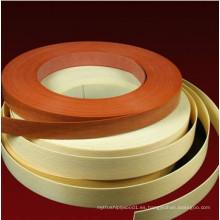 3: 4 bandas de borde de PVC