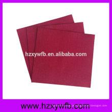 Guardanapos de linho de uma dobra para guardanapo do restaurante para o papel de Airlaid de Decoupage