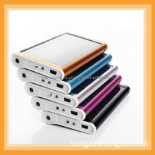 Aluminium material solar charger for mobiles