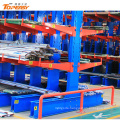 doubled-sided heavy-duty steel storage cantilever rack shelf