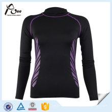 Высокое качество тела леди Топы для фитнес-одежда
