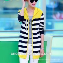 Hoodie colorido de bambu da camisola 15STC6709