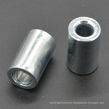 Mild Steel Round Nut with Zinc Plated (CZ144)
