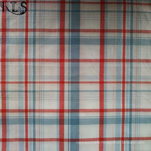 100% Cotton Poplin Woven Yarn Dyed Fabric for Shirts/Dress Rls40-47po