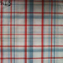 100% хлопок Поплин тканые Пряжа Покрашенная ткань для рубашки/платье Rls40-47po