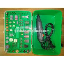 GS CE ETL 135w 217pcs Ensemble d'accessoires Mini pince à outils Mini-outil portable Hobby électrique rotatif