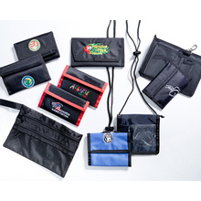 Wallets with Embroidered Logo