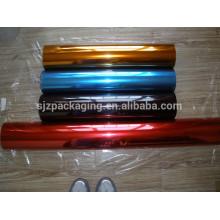 75micron Bunte transparente PET-Folie für die Dekoration