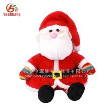 Father Christmas plush toys& sitting Santa Claus plush toys