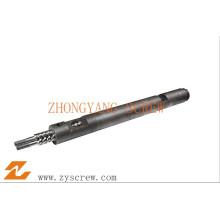 Componentes de barril de tornillo paralelo doble