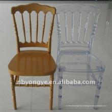 Chaise napoleon en résine banquet