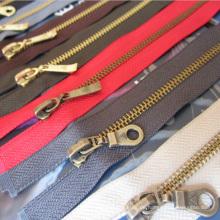 # 5 Zipper Apparel Zubehör Nylon Zähne Metall Zipper