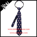 China Factory Wholesale Perfect Neck Knot BB8 School Student Zipper Tie