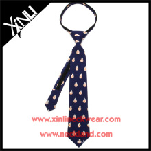 Chine usine en gros Perfect Neck noeud BB8 école étudiant Zipper Tie