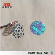 Stock Attractive Genuine Void Hologram Sticker with Free Master