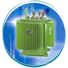 Transformador de distribución de núcleo de hierro de desplazamiento