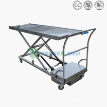 Medical Mortuary Toom Stainless Steel Cadaver Lift