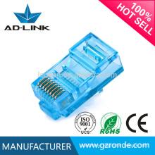 Conector de cable famoso cat6 UTP con el precio de fábrica en Guangzhou de China