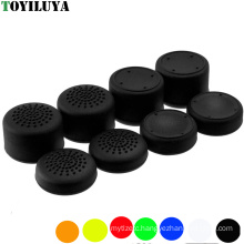 Colorful Silicone Enhanced Analog Sticks Joystick Grips Extra High Cover Caps For Sony Dualshock 4 PS4 Controller