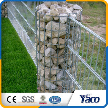 Venda quente que protege o fio galvanizado 4mm gabião gabião cestas caixa de gabião