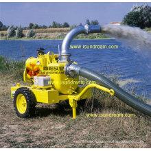 Pompe à eau centrifuge haute capacité avec moteur diesel 2-12 pouces