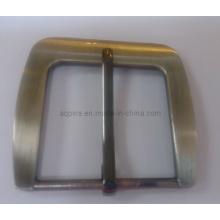 Boucle de ceinture réglable en nickel brossé (boucle de ceinture-013)