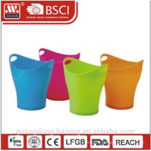 HaiXing бытовые пластиковые мусорную корзину