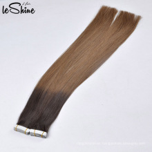 Grade 8A 9A 10A Double Drawn Soft No Tangling No Shedding PU Skin Weft Tape Hair Extension