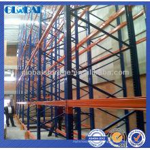 La palette standard industrielle d'entrepôt défilement rayonnant des étagères / étagères pour l'entrepôt / magasin / stockage de supermarché