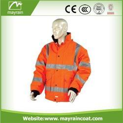 Safety Jacket with Reflective Stripe