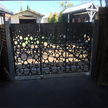 Metal Laser Cut Fence Panels