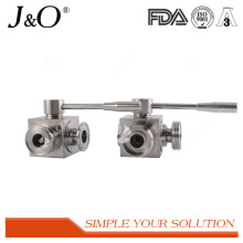High Comment Sanitary 3 Way Male Ball Valve