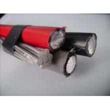 0.6 / 1kv Anel de alumínio Bundled ABC Cable