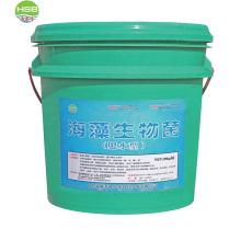 Fertilizante líquido com extrato de algas marinhas para absorção de lubrificantes