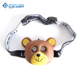 Factory price CE RoHS certificate plastic animal shaped rechargeable led headlamp