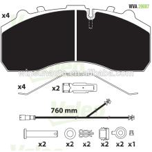 Pastilha de freio do caminhão 29087 para BPW / MAB / MB / SCANIA / DAF / SAF