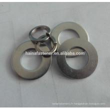Rondelle plate, rondelles plates en acier inoxydable, rondelles générales