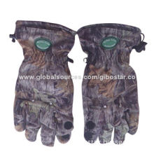 Hunting gloves with LED light, hunting accessories