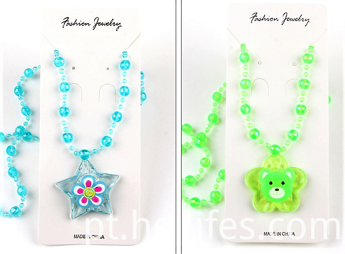 Light Toys for Kids of Necklace LED