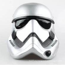 Blanco 1: 6 Scale Down casco personalizado de plástico muñeca de sombrero de juguete