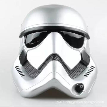 White 1: 6 Scale Down Helmet Customized Plastic Hat Doll Toys