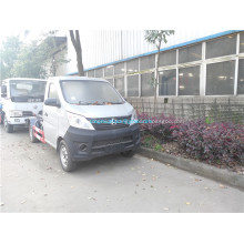 Changan 4x2 mini rear loading garbage truck