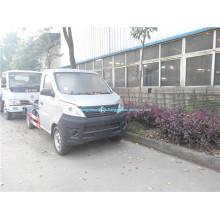 Changan 4x2 мини мусоровоз с задней загрузкой