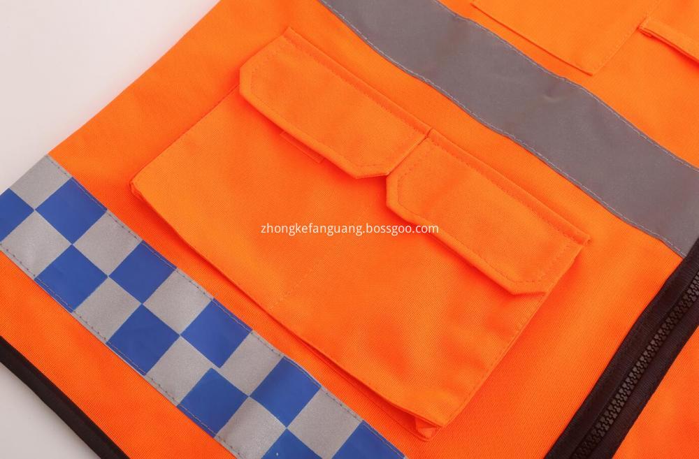 Warning Jackets Pocket Design