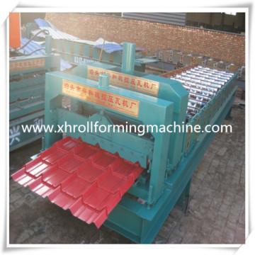Herstellung trat Blatt Dachziegel Formmaschine