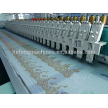 56 heads lace embroidery machine