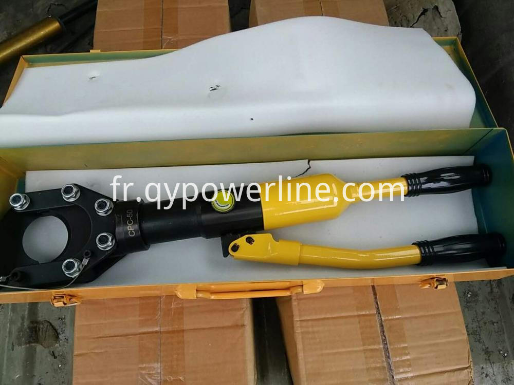 Manual Hydraulic Cable Cutter 50mm